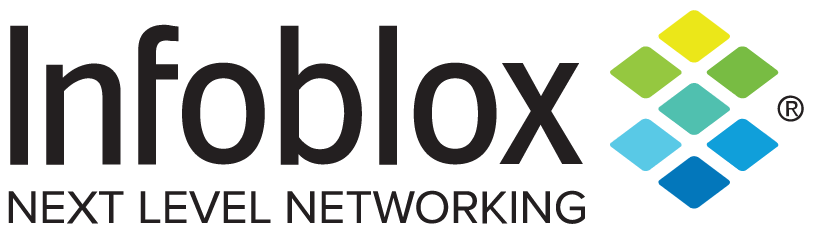Infoblox next level networking logo