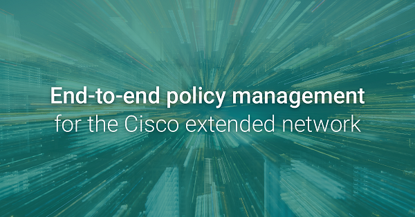cisco policy management