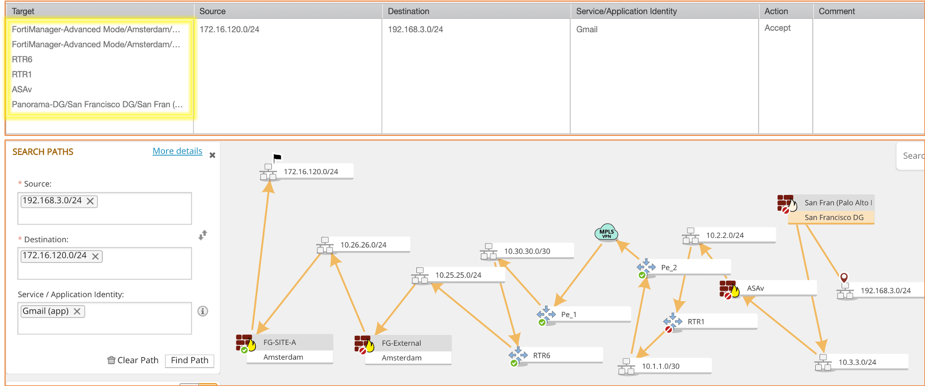 Path Analysis Tool