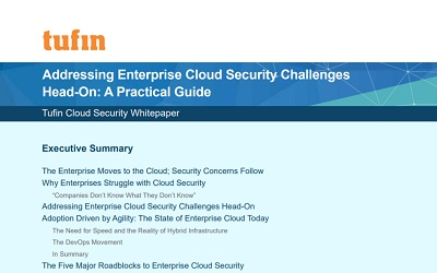 Addressing Enterprise Cloud Security Challenges Head-On