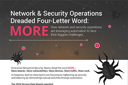 Network & Security Operations Dreaded Four-Letter Word: MORE